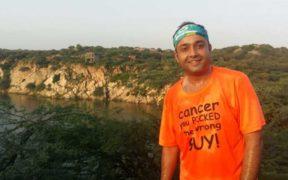 Sidharth Ghosh Cancer survivor, author & marathoner